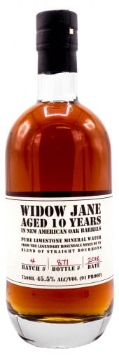 Widow Jane Bourbon Whiskey 10 Year Old 750ml