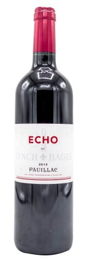 2012 Chateau Lynch Bages Echo de Lynch Bages 750ml