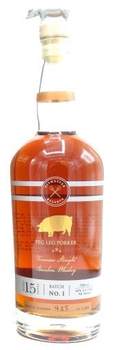Peg Leg Porker Bourbon Whiskey 15 Year Old, Pitmaster Reserve 750ml