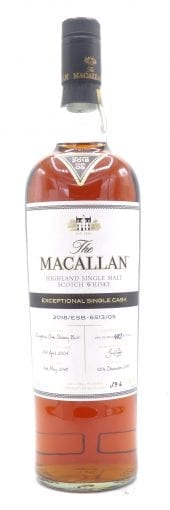 2005 Macallan Scotch Whisky Exceptional Single Cask 6513/05 750ml