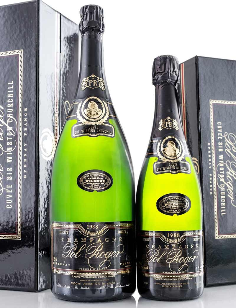 Lot 245-248: parcels of 12 bottles and 6 magnums 1998 Pol Roger cuvee Sir Winston Churchill in OCBs