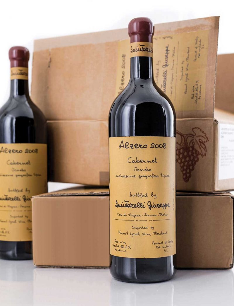 Lot 913, 915: 3 double magnums each G. Quintarelli 2008 Alzero and 2009 Amarone in OCB